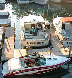 Dockside marine service in Kenosha, Racine, and Winthrop Harbor.